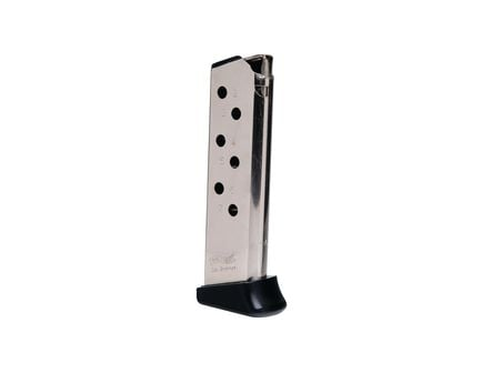Walther Magazine: PPK/S: 380 Auto/ACP: 7rd Capacity w/Finger Rest Nickel - 2246012