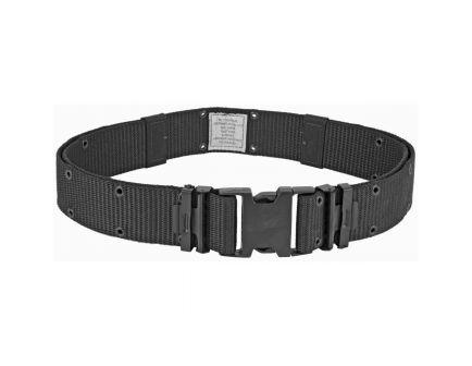 "Bianchi M1020 30-48"" Webbing Pistol Belt, Black - 13599"