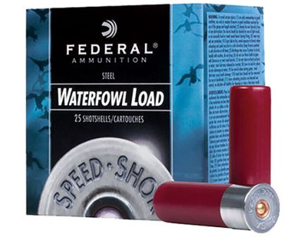 "Federal 12ga 3.5"" 1-38oz #3 Speed-Shok High Velocity Steel Shotshells - WF133 3"