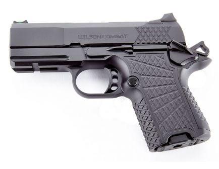 Wilson Combat EDC X9S 10+1 9mm Pistol, Black