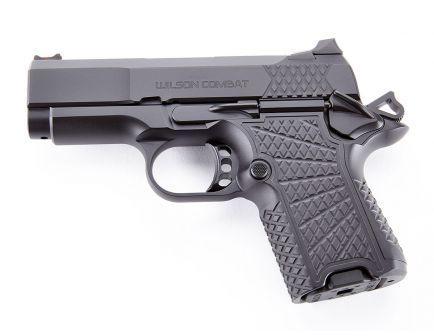 Wilson Combat EDC X9S Non-Lightrail 9mm Pistol, Black