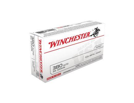 Winchester 380 Auto/ACP 95gr FMJ Ammunition 50rds - Q4206