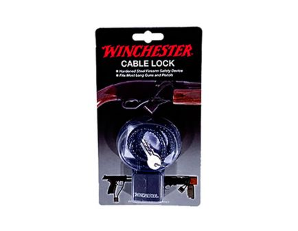 "Winchester 15"" Hardened Steel Cable Lock 