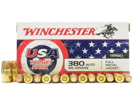 Winchester 380 ammo 95 grain fmj