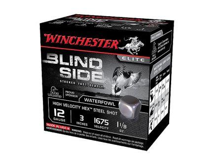 """Winchester Blind Side 3"""" 3 Shot 1 1/8 oz HV 12 Gauge Ammunition 25 Rounds - SBS123HV3"""