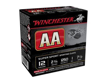 "Winchester AA Super Sport 12 Gauge 2 3/4"" Sporting Clays"
