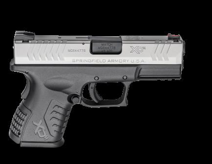 "Springfield XDM Compact 3.8"" .45acp Pistol, BiTone- XDM93845CSHCE"