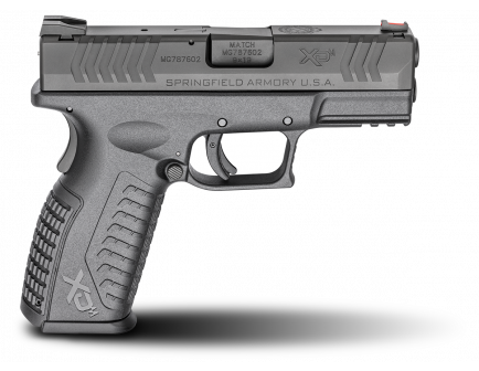 "Springfield Armory XDM 3.8"" 9mm Pistol, Black – XDM9389BHCE"