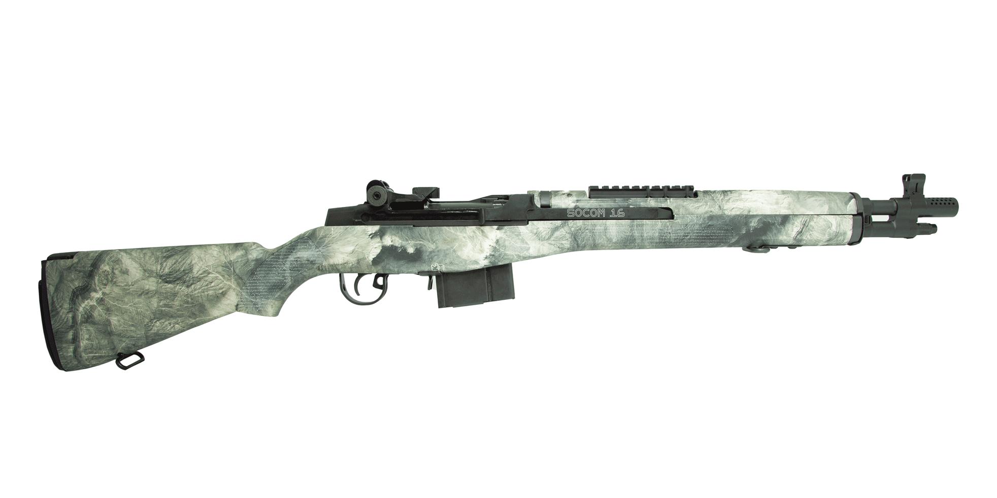 Springfield Armory M1A SOCOM .308 Win NRA Mossy Oak Rifle - AA9604