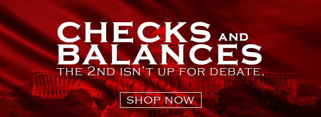 Checks and Balances Sale